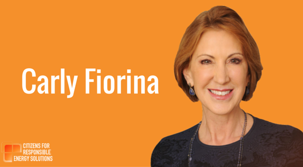 Carly Fiorina responds at 25.30.