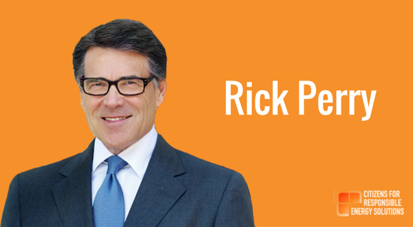 Rick Perry responds at 18.54.